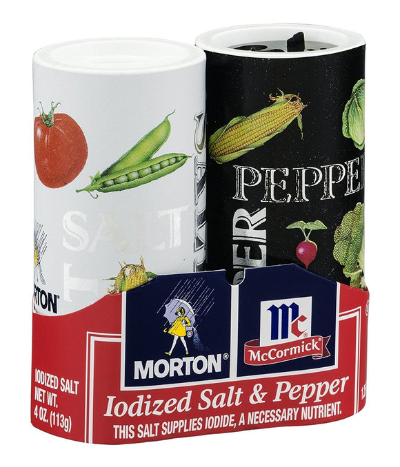 Concealed Storage Container - Salt & Pepper