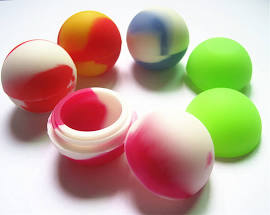 Silicone Ball Slick Container
