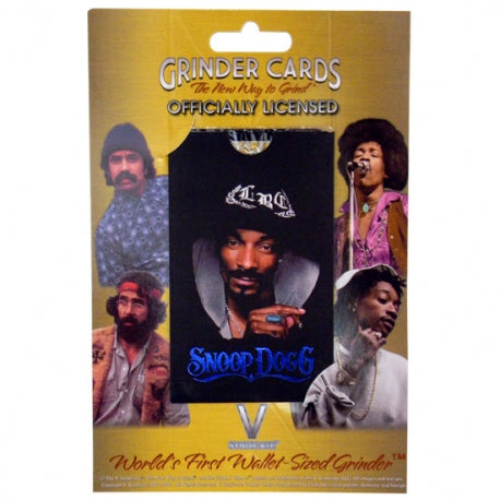 Snoop Dogg Herb Grinder Card