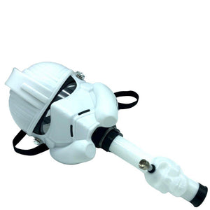 Star Wars Storm Trooper Gas Mask with Acrylic Bong