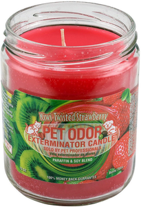 Smoke Odor Candles - Kiwi Twisted Strawberry