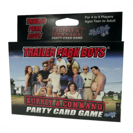 Trailer Park Boys Supply and Command Card Game