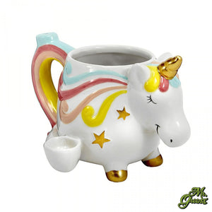 Unicorn Ceramic Mug Pipe