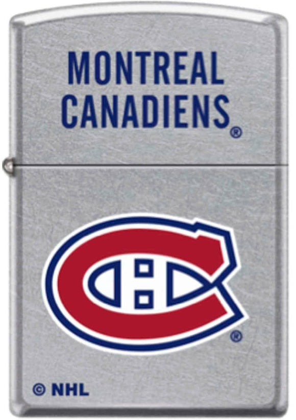 Zippo Lighter -  NHL Montreal Canadiens - Street Chrome