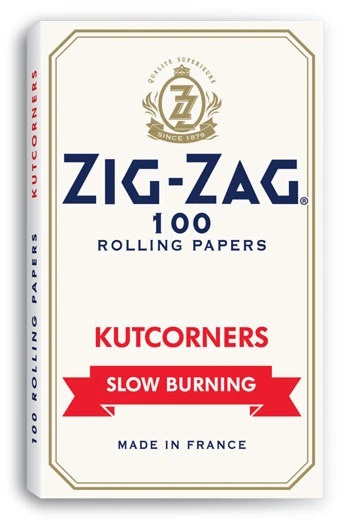 Zig Zag Slow burning White Papers Kutcorners