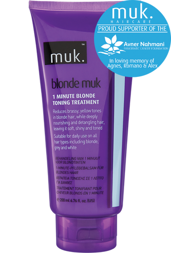 BLONDE MUK 1-MINUTE BLONDE TONING TREATMENT