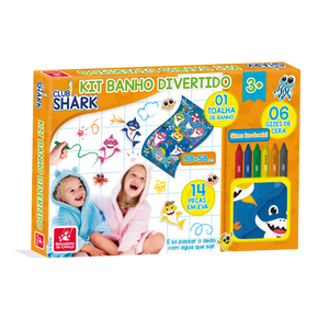 Kit Banho Divertido Club Shark