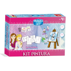 Kit Pintura - Princesa do Gelo