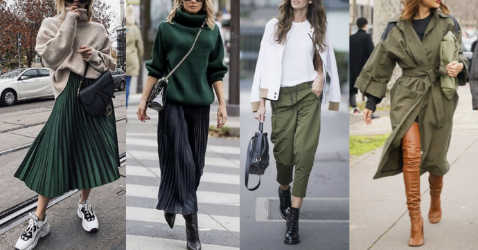 Trending Now... WINTER GREENS!