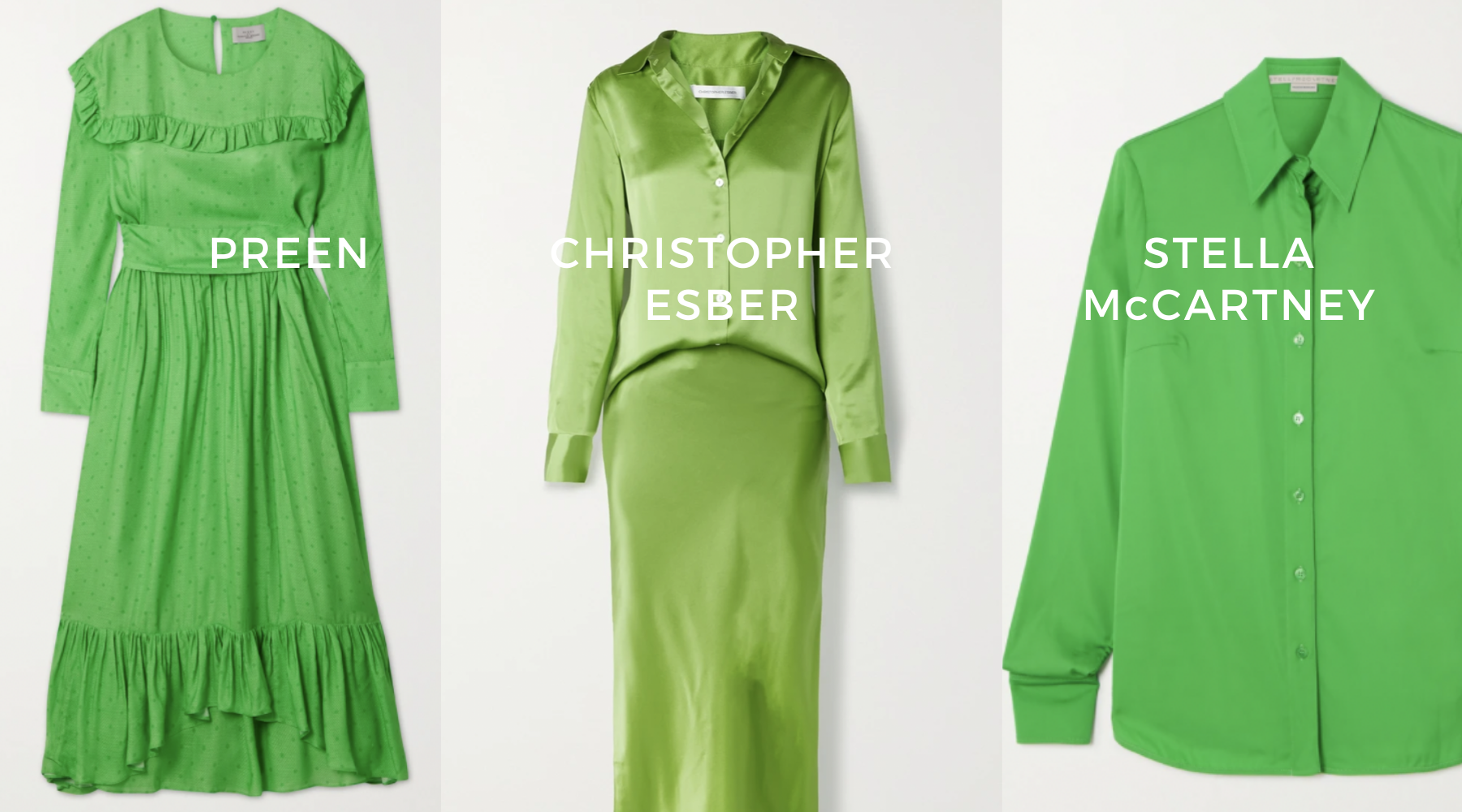 fashion style green blog colour trend
