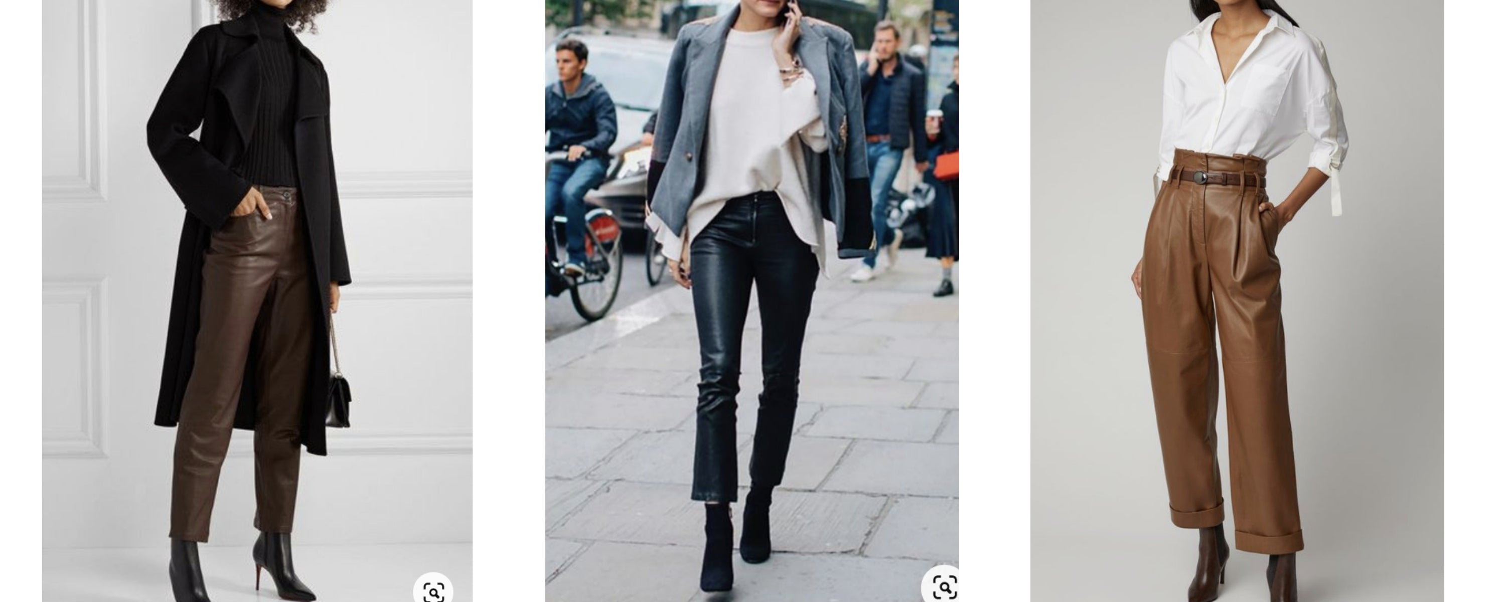 leather pants style inspiration