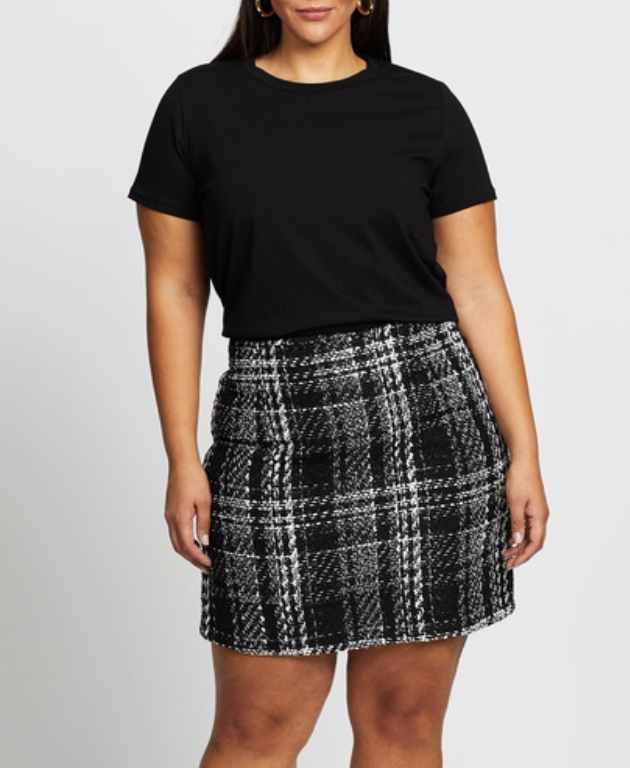 https://www.theiconic.com.au/lilly-boucle-check-skirt-1187038.html