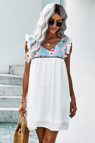 Summer Beach Sleeveless Dress