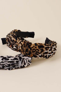 Leopard Print Head Band