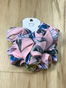 Large 2piece Scrunchie Set