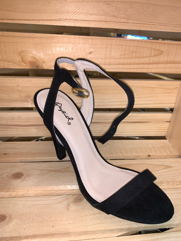 Open Toe Ankle Strap Heel