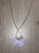 Load image into Gallery viewer, Tassel Pendant Necklace