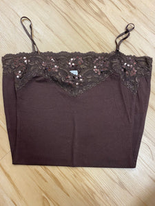 Frenchy Sequin Cami