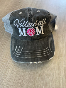 Volleyball Mom Baseball Cap