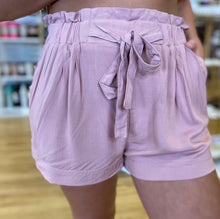 Load image into Gallery viewer, Loving Life With You Paper Bag Shorts