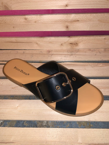 The Babbs Criss Cross Strap Slide