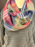 Mix Colored Blanket Scarves