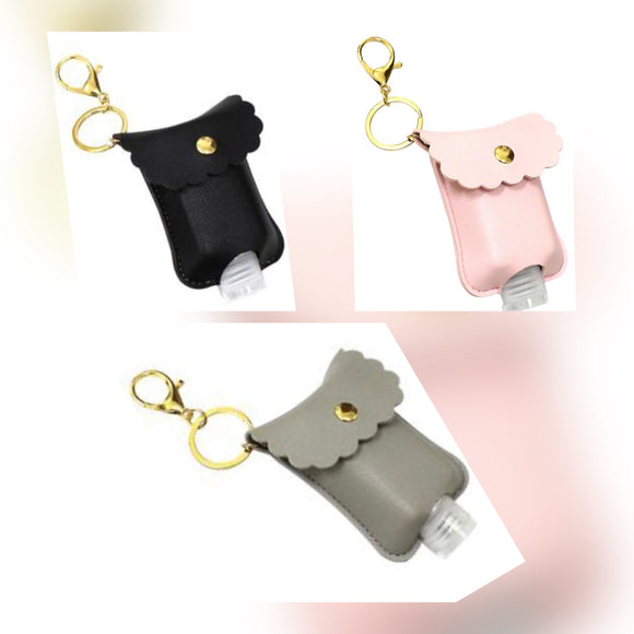 Keychain Hand Sanitizer Holder