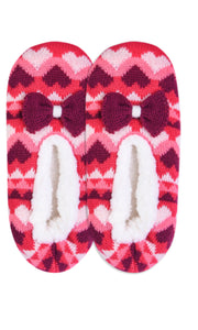Sherpa Bow Slippers
