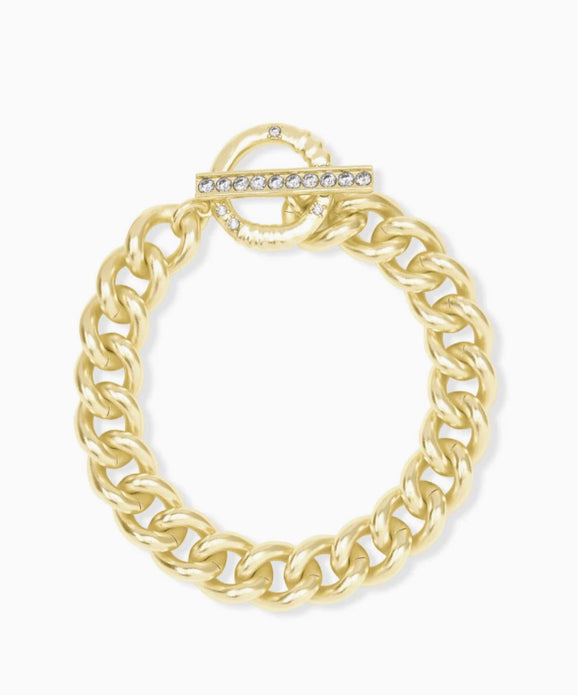 Kendra Scott Whitley Chain Bracelet- Gold