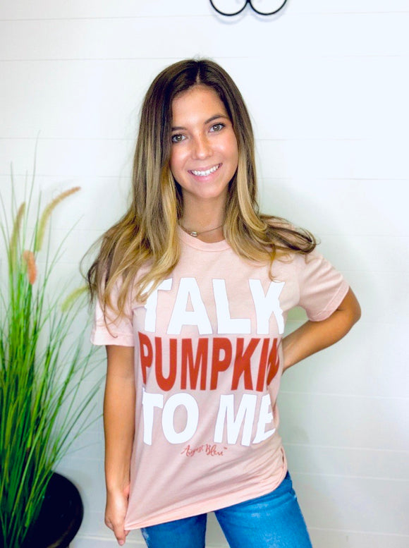 Talk Pumpkin To Me Graphic Tee