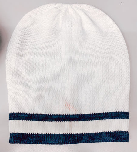 CC Beanie Striped Slouchy