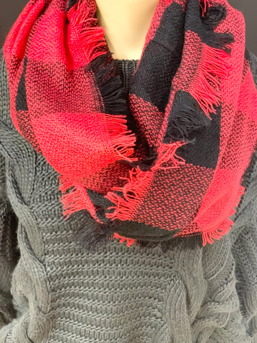 Plaid Pattern Scarf