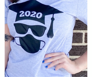 Class of 2020 Covid Graphic Tee