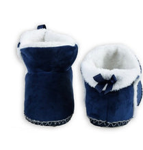 Load image into Gallery viewer, Faux Fur Bootie Slippers