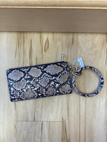 Bangle Bracelet Key Chain and Pouch
