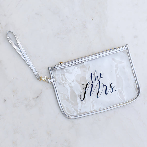 The Mrs Clear Wristlet