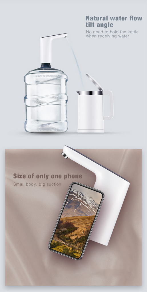 Smart touch water dispenser