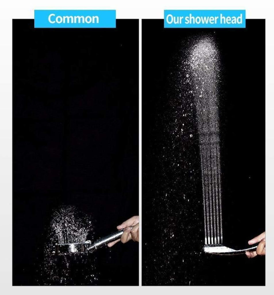 (Buy Two Free Shipping)-300 Holes Pressurized Water Saving Shower Head