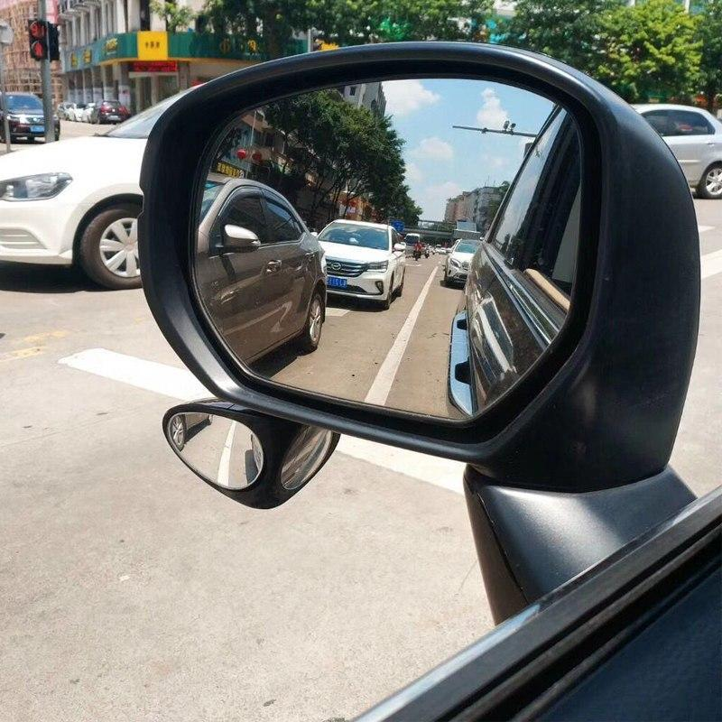 (Buy Two Over 29$ Free Shipping )BLIND SPOT MIRROR FOR CARS 360 DEGREE ADJUSTABLE CONVEX WIDE SIDE VIEW MIRROR