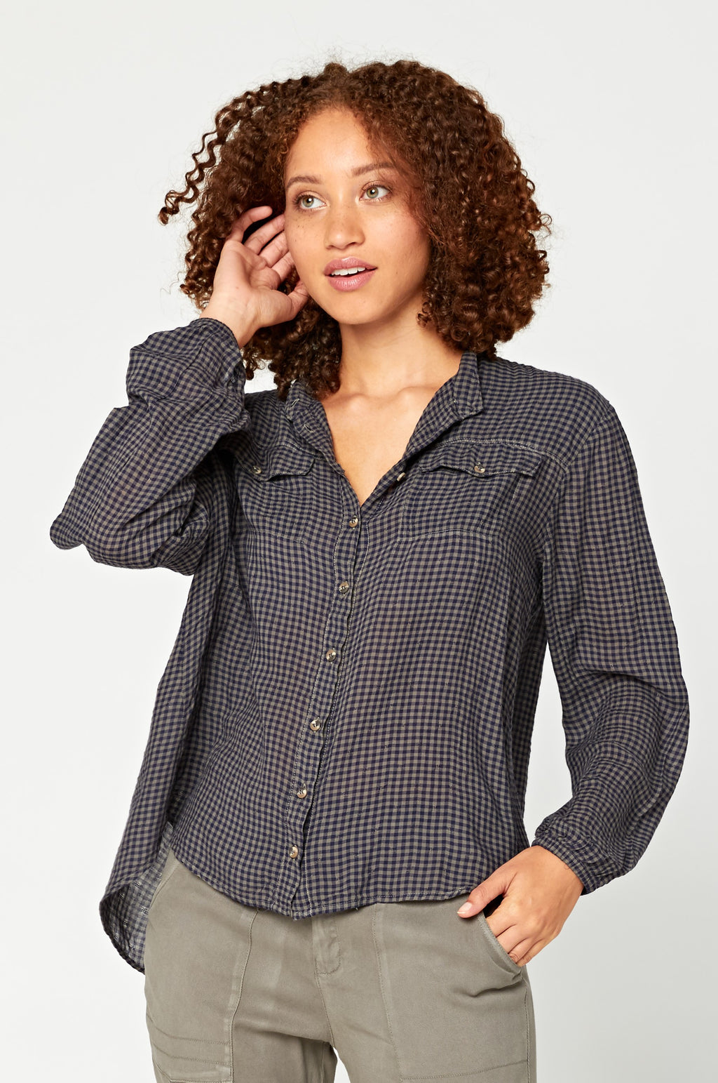 Contempo Country Shirt - Gingham