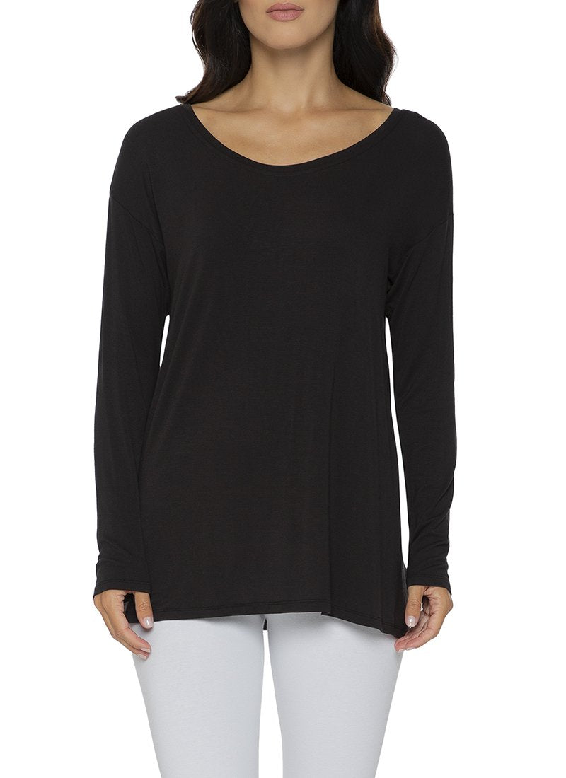 Long Sleeve Drop Shoulder Tee