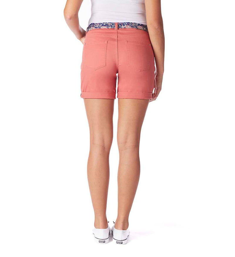 Carter Girlfriend Shorts - Rosehip