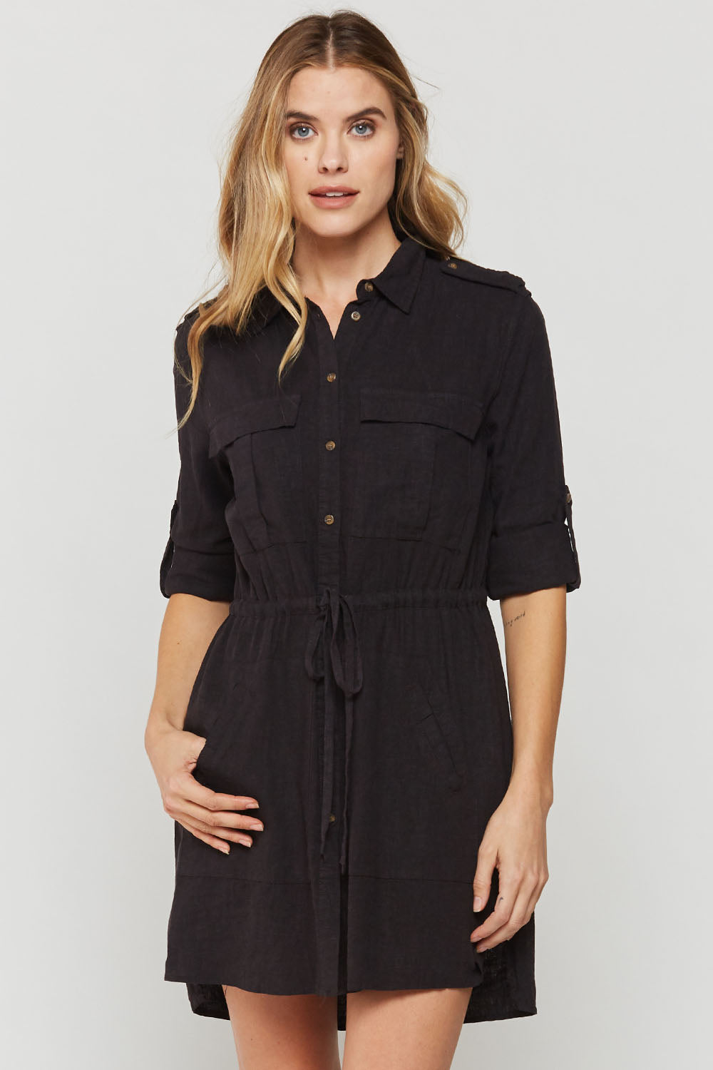 Lupe Shirt Dress