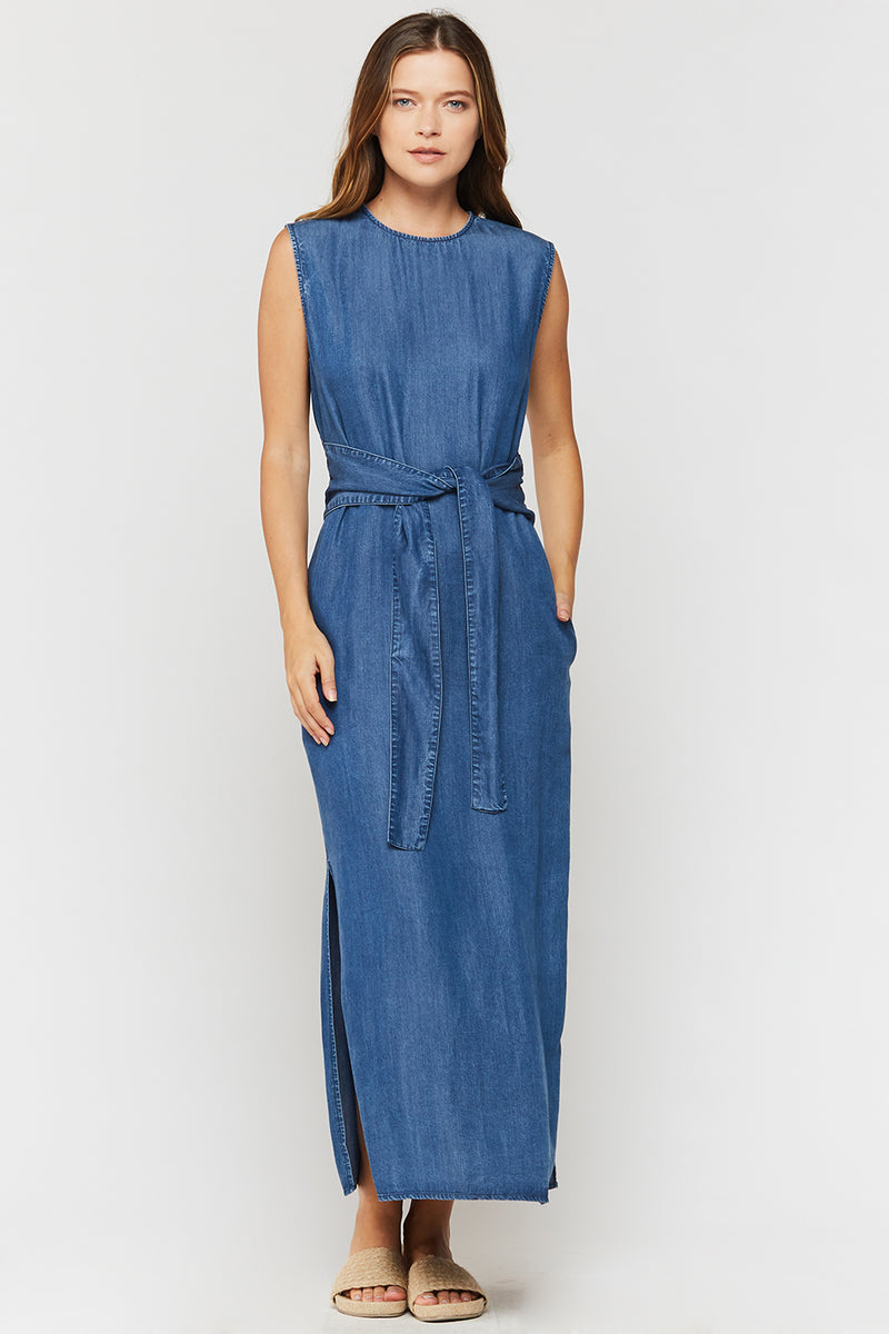 Sheri Chambray Maxi Dress