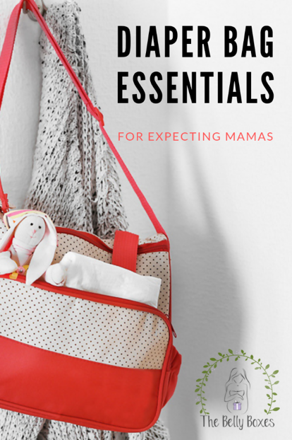 Diaper Bag Essentials for Expecting Mamas