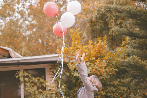 Release balloons