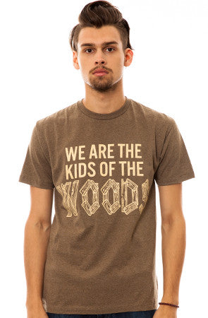 We are the Kids of the Woods in Heather Brown