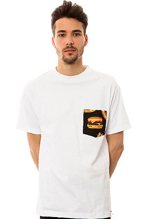 The All American Burger T-shirt in White