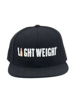 Marillest Light Weight Snapback in Black