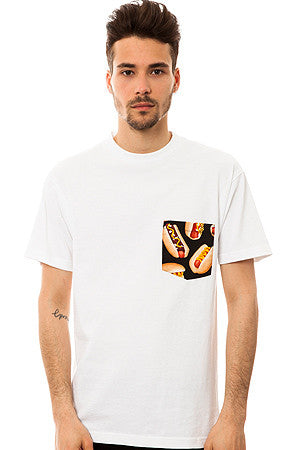 The All American Hotdog T-shirt in White